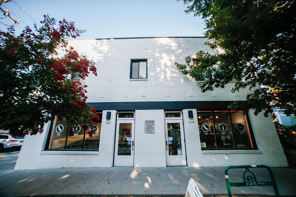 Front of the Sacramento Brew Bar