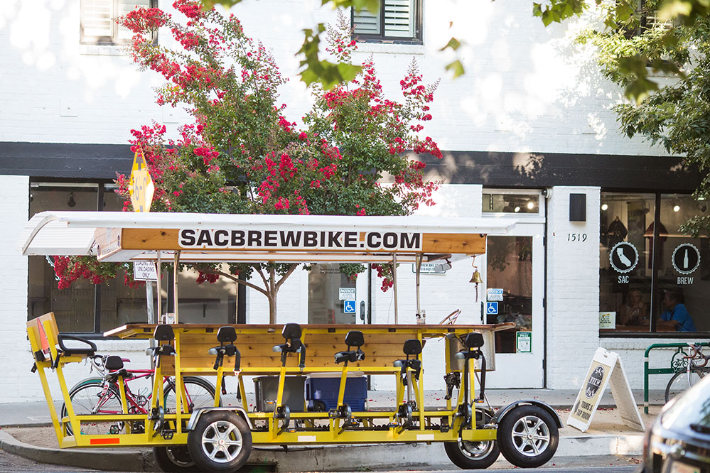The Sacramento Brew Bike