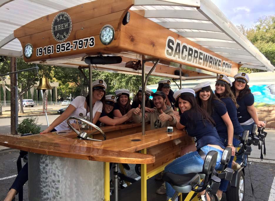 Sacramento Bachelorette Bar Tours