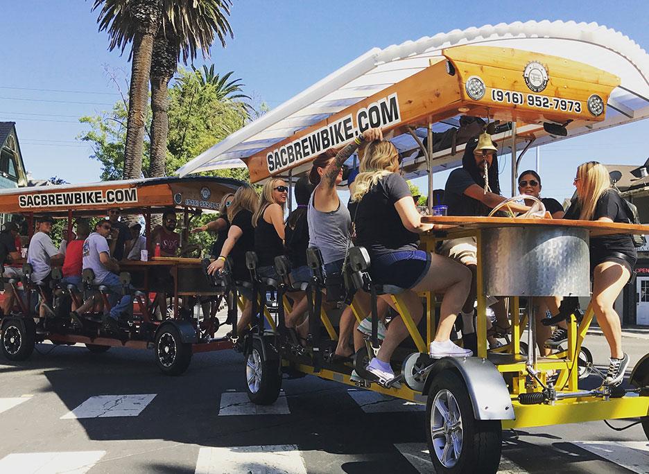 Sac Brew Bike | Sacramento's Original and Favorite Beer Bike