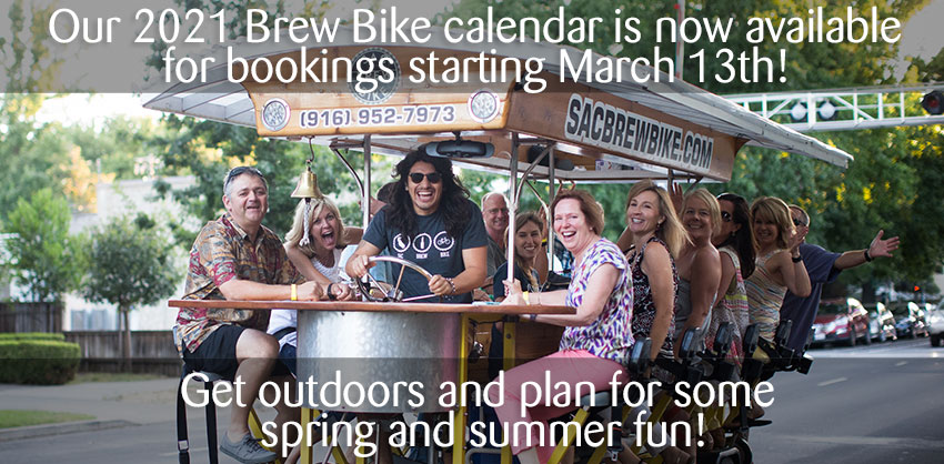 Get outdoors and plan for some spring and summer fun!