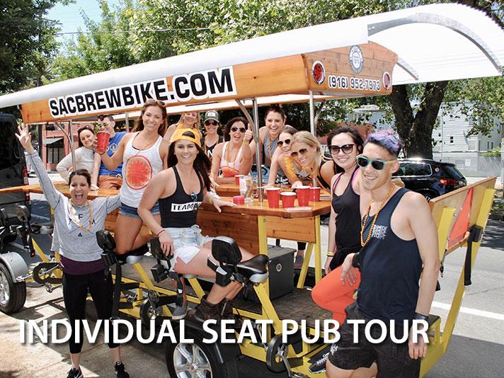 Individual Seat Pub Tours