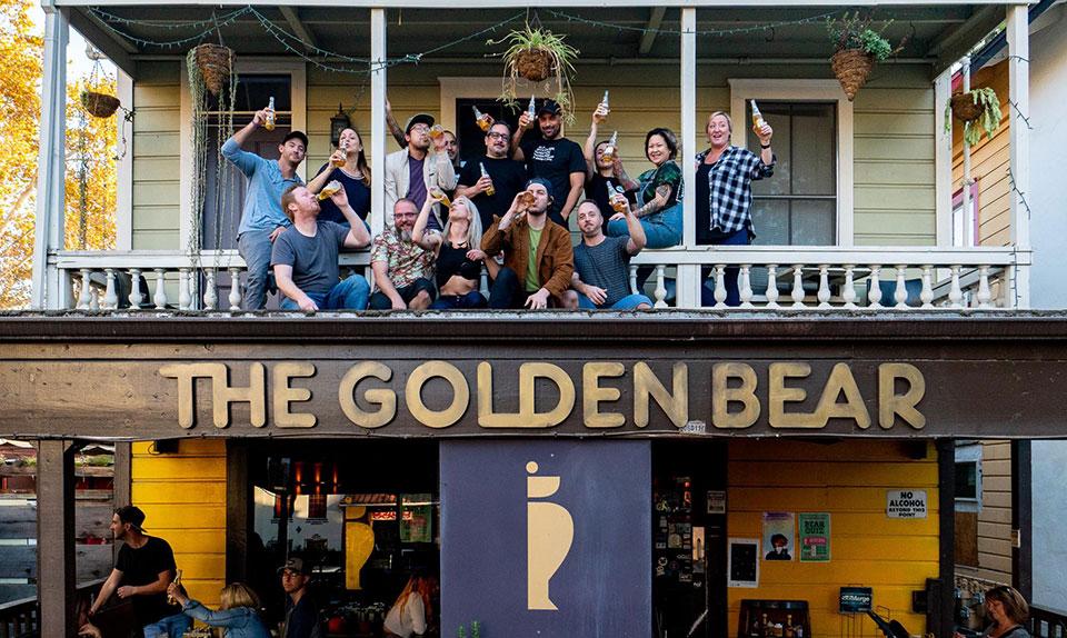 The Golden Bear Bar